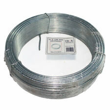 Galvanised Steel Tension Straining Line Wire Fencing Chain Link - 52m x 2.5mm