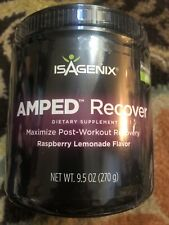 Isagenix AMPED Recover Raspberry Lemonade Flavor BN Sealed EXPIRED 11/2017 Post