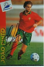 Joao Pinto   Portugal  Fußball Foto original signiert 302962