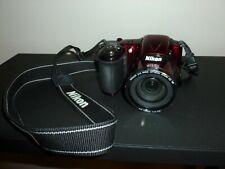 Nikon L830 16.0 Mp Coolpix Camera - Good Condition - Red