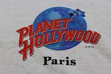 XL gray Planet Hollywood restaurant Paris France t shirt
