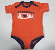 b92b3f618687e Nuevo All Star Converse Bebé Body de Niño Traje Naranja Gr.65-70 3