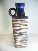 XXL Fat Lava Scheurich Bottle Vase 481-50 W.Germany