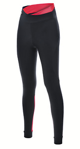 Women's Sfida Cycling Tights in Black & Red by Santini - Size S - Made in Italy