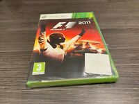 Formel 1 2011 Xbox 360 Versiegelt Neu Verschlossen IN Spanisch