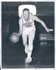1958 National Basketball Association Player Chuck Noble Press Photo