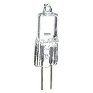 20pcs G4 20W Watt 12V Halogen Capsule Bi-pin Light Bulb Base JC Type Bulbs Lamp~