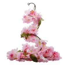 Artificial Flower Plant Cherry Blossom Hanging Garland Wreath wedding Arch Decor