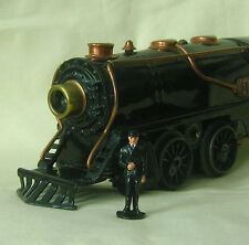 Railway officer/conductor, 40mm O scale model train layout figure, Reproduction