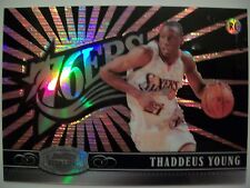 2007-08 Bowman Sterling R/C Thaddeus Young Refractor 11/25 Sixers , !Box5