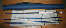 Pike master fly rod 4 pc #9/10 darkblue blank rod tube/sac envoi gratuit