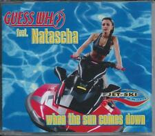 GUESS WHO ft NATASCHA - When the sun comes down CDM 4TR Eurodance 2001