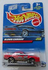 Hot Wheels 1999 ISSUE BLOWN CAMARO #229 650 BLOWN CAMARO LOGO
