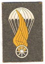 017 Brevetto paracadutista aviorifornimenti