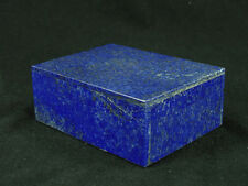 """BUTW Hand Crafted Afghan Lapis Lazuli 4"""" Jewelry Box Gorgeous Color 0769K ab"""