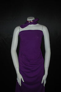 Cotton Jersey Lycra Knit Fabric Very soft light weight Purple  7 oz by the yard