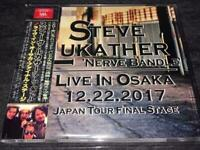 Steve Lukather Nerve Bundle Live in Osaka 2017 CD Japan Tour Final Stage