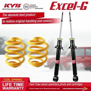 Rear KYB EXCEL-G Shock Absorbers Lowered King Springs for NISSAN 180SX S13 Coupe