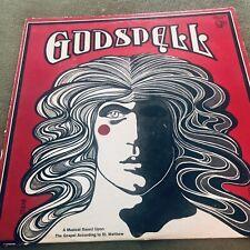 Godspell A Musical  Vintage Vinyl - 1972