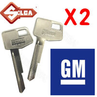 2 x GM-GMH-Holden Key Blanks suits VB VC VH VK VL HZ WB Commodore Rare - BULK
