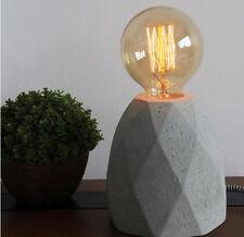 Simple 1 Light Diameter 11cm Height 13cm Cement Decoration Table Light/Lamp #