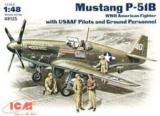 ICM 1/48 P-51B Mustang with USAAF Personnel # 48125