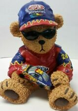 Jeff Gordon Collectible Polyresin Bear #24 Dupont