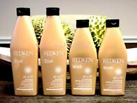 4 REDKEN All Soft Shampoos & Conditioners Lot of 4 - All Full Size!!