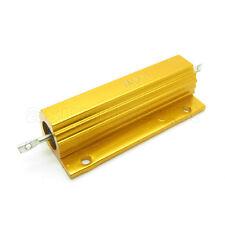 1PCS High Power 50 Ohm 50R 100W Watt Aluminum Shell Case Wirewound Resistor 5%