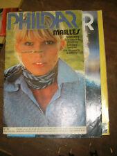 Phildar Mailles N°35 Tricot vintage Printemps Robes Pulls tuniques Pélerine