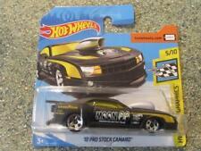 "Hot Wheels 2018 #202/365 2010 PRO STOCK CAMARO black ""Mooneyes"" speed graphics"