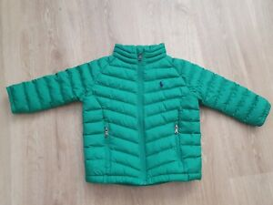 Ralph Lauren Infant Toddler Boys Padded Puffer Jacket Size 24 Months Age 2 Years