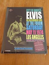 Elvis Presley book and 2 cd's - City of Angels - sealed!