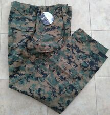 New USMC Woodland MARPAT FROG Combat  Pants Trouser Size Extra Large Regular
