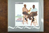 Louis Armstrong Meets Oscar Peterson  -  CD, VG