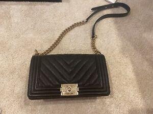Authentic BRAND NEW Boy Chanel Bag Calfskin BLACK MEDIUM