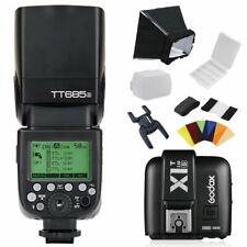 Godox TT685S 2.4G HSS TTL Camera Flash Speedlite for Sony w/ X1T-S Transmitter