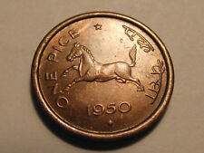 #4311 India: 1 Pice 1950 UNCIRCULATED