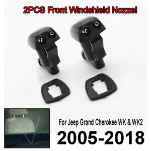 Fit For Jeep Grand Cherokee WK WK2 05-> Front Windscreen Washer Jet Nozzle