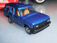 Vintage TOMY TOMICA NO 54 Range Rover, New in Mint Box, Navy Blue,  1/64