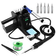 60w 110v Smd Rework Soldering Station Iron Set Welding Tools Digital Led Display