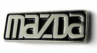 MAZDA SCRIPT EMBLEM AUTOMOBILE CAR EMBLEM LOGO LAPEL PIN BADGE 1 INCH