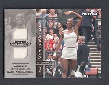 2003 Venus Williams NetPro International Series Court Match Worn Clothing 8D Mem