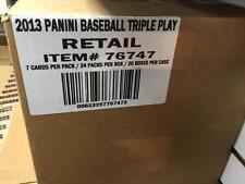 2013 Panini Triple Play Baseball Factory Sealed 20 Box Case