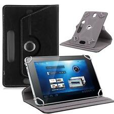 """360° Folio PU Leather Box Case Cover For Universal Android Tablet PC 7"""" w/ Styus"""