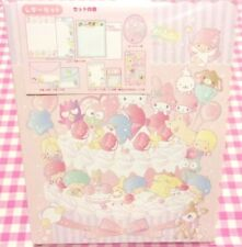 Sanrio Characters MIX Volume Letter Set / Made in Japan 2021 Kiki Lala Kitty