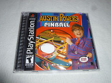 FACTORY SEALED BRAND NEW PLAYSTATION PS1 VIDEO GAME AUSTIN POWERS PINBALL NFS