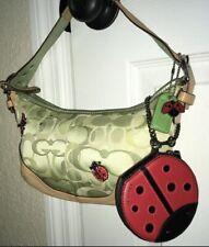 COACH Ladybug Shoulderbag & NWT Coin Purse Set