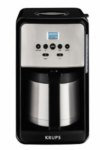 Krups Savoy 12 Cup Thermal Coffee Maker