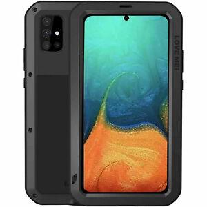 LOVEMEI Gorilla Glass Dust/Shock/Waterproof Metal Case Full Body Cover f Samsung